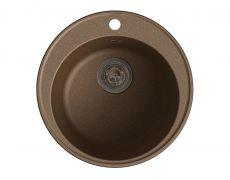 Мойка кухонная Granfest GF - Z08 (ECO-08), 480х180мм, терракот, искусственный камень