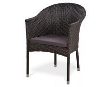 Кресло плетеное Y350G-W53 Brown