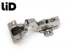Петля вкладная 110* с газовым амортизатором, clip-on, с ответной планкой H=2, LID