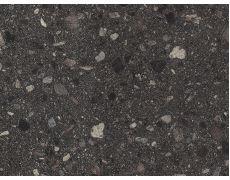Плинтус 4100x25x25 Камень Вентура чёрный F117, Egger