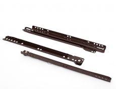 Направляющие роликовые для ящиков 450мм, коричневый