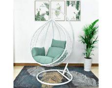 Подвесное кресло AFM-168A-XL White/Green