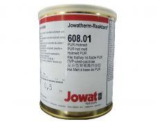 Клей-расплав для кромочных пластиков, Йоватерм 608.01, ПУР, белый, 0,5 кг.