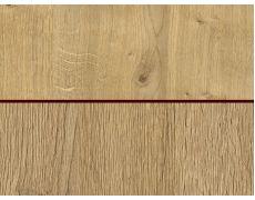 Стеновая панель двухсторонняя 4100х640х8 Дуб Гамильтон натуральный H3303 ST10 : Дуб Антор натуральный H3330 ST36, Egger