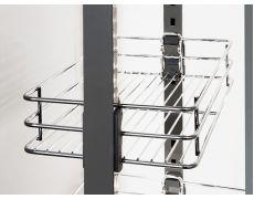 Корзина для выдвижной колонны, в базу 400 мм, металлический пруток Art. 546.43.274, Hafele