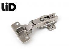 Петля накладная 110* slide on крепление шурупом, с ответной планкой H=2, LID