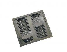 Лоток Ago-Plate для тарелок в ящик Hettich Innotech на ширину фасада 600 мм, серый, Германия, Agoform