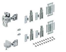 Комплект фурнитуры WingLine L 12кг/H2400мм без самозакрывания (для Push to Open), левый Art. 9237905, Hettich