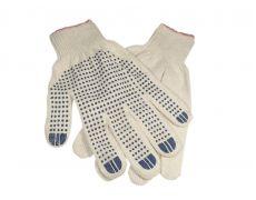 Перчатки ХБ с ПВХ, 5-х нитка (10) вес 50 гр.