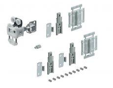 Комплект фурнитуры WingLine L 12кг/H1700мм без самозакрывания (для Push to Open), без нижнего направляющего элемента, левый Art. 9237901, Hettich