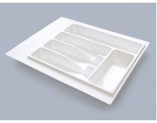 Лоток для столовых приборов М400-450, 390х490 мм, белый, пластик