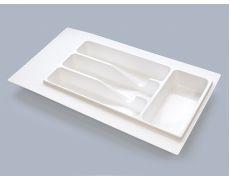 Лоток для столовых приборов М300-350, 270х490 мм, белый, пластик