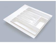 Лоток для столовых приборов М500-550, 470х490 мм, белый, пластик