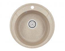Мойка кухонная Granula 4802, 480х190мм, КЛАССИК, искусственный камень
