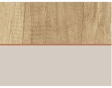 Стеновая панель двухсторонняя 4100х640х8 Дуб Небраска натуральный H3331 ST10 : Светло-серый U708 ST9 , Egger