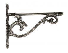 Менсолодержатель MOD 5, 150x200, серебро античное