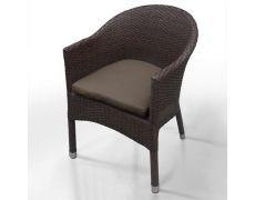 Плетеное кресло из искусственного ротанга WS2907B Brown