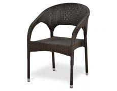 Плетеное кресло из искусственного ротанга Y90C-W51 Brown