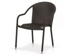 Плетеное кресло из искусственного ротанга AFM-318A-Brown