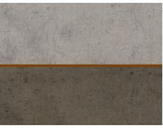Стеновая панель двухсторонняя 4100х640х8 Бетон Чикаго светло-серый F186 ST9 : Бетон Чикаго тёмно-серый F187 ST9, Egger
