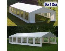 Шатер-павильон 6х12 AFM-1030W White