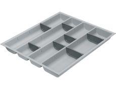 Composit 50 Ёмкость для столовых приборов в базу 450, цвет светло-серый/темно-серый (матовый)
