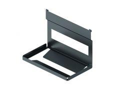 Держатель для бумажных полотенец, 256х150х197мм, отделка черный бархат (матовый)