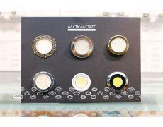 Экспозитор №2 с образцами светильников (MAKMART)