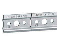 Профиль для навески полок оцинкованный, L.2000 мм