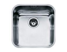 """Мойка SVX 110-40, выпуск3,5"""", сталь полированная, стоп-вентиль в комплекте"""