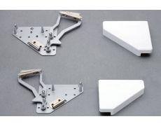 Основание подъёмника Lift Swing треугольное, левое/правое, крышки серые