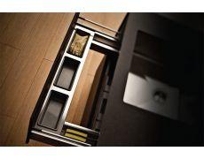 П-образный выдвижной ящик в базу 900/18, отделка серый орион