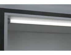 Комплект из 1-го светильника LED Dentro 3, 413 мм, 6000K, отделка алюминий