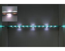 Комплект из 1-го светильника LED Orlo, 850мм, 5000K, отделка серая