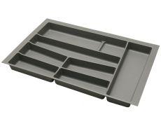 Ёмкость в базу 800 для столовых приборов, цвет орион серый