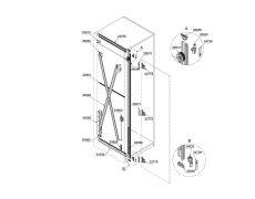 Concepta 30 Комплект фурнитуры для 1-ой двери (30кг/Н1851-2300мм)