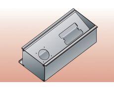 Контейнер L=300 для розеток, алюминий анодированный