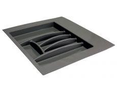 Ёмкость в базу 600 для столовых приборов, цвет темно-серый