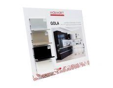 Образцы профилей Gola c одним закруглением (настольный вариант) №2