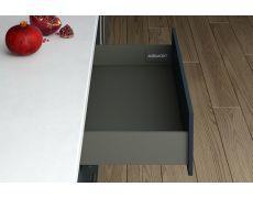 Комплект ящика Indigo H=90, L=400, отделка орион серый