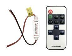 Диммер mini радио с пультом, 5-24 вольта, 6А