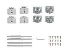 Tongo H1 Комплект фурнитуры для 2-х дверей, с 4 доводчиками