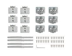 Tongo H1 Комплект фурнитуры для 3-х дверей, с 4 доводчиками