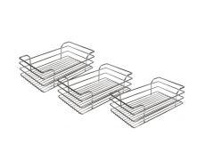 Комплект из 3-х сеток для колонны в базу 300, отделка хром