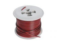 Кабель , ACPC-2*0,5-100M, медь, красно-черный