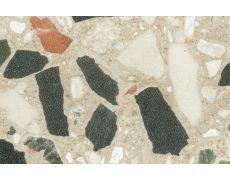 033.Бортик овальный L=4000, камни жёлтые