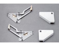 Основание подъёмника Lift Parallel треугольное, левое/правое, крышки серые