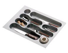 Ёмкость в базу 400 для столовых приборов, цвет серый металлик