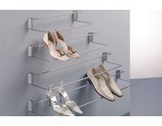 Полка для обуви с фронтальным креплением, 480-830мм
