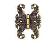 Петля декоративная, отделка бронза античная